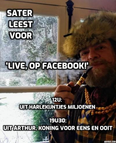 Jeroen Olyslaegers leest voor!
